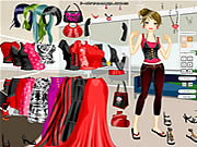 Blank and Red Dressup لعبة