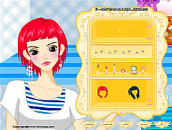 Girl Dressup Makeover 14 oyunu