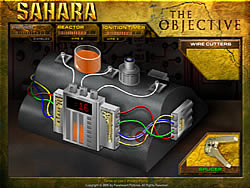 Sahara: The Objective game