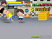 Play High school backstreet fighter Game