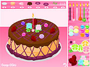 Play Decorate cake Game