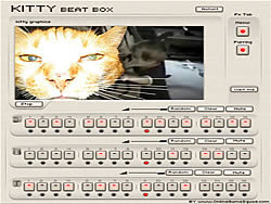 Kitty Beat Box game