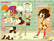 Play Mimi the doll dressup Game