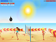 Boom Boom Volleyball game