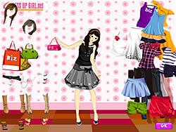 Summer Shopper Dressup oyunu