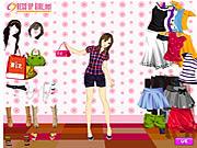Jugar Summer shopper dressup Juego