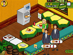 Jogar jogo grátis Burger Restaurant 2