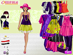Distinguished Colors Dressup game
