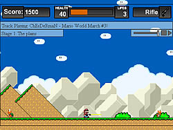 Super Mario Hardcore game