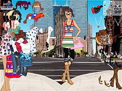 Juega al juego gratis Manhattan Shopping Girl