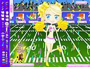 Play Football cheerleader Game