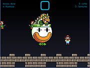 Play Super mario world bowser battle Game
