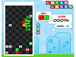 Cutey Cubes game