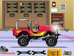 Pimp My Jeep game