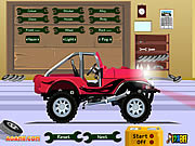 Play Pimp my jeep Game