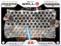 Wall-E Pop game