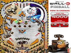 Wall-E Pinball oyunu