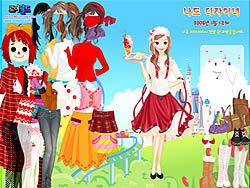 Dream Park Dressup game