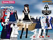 Tandy Sailor Girl Dressup Game παιχνίδι