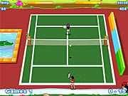Play Twisted tennis Game Online
