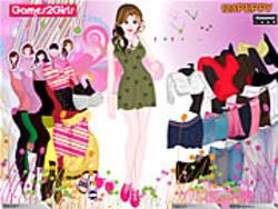 Brenda Skirt Girl Dressup game