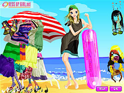 Windy Sea Dressup game