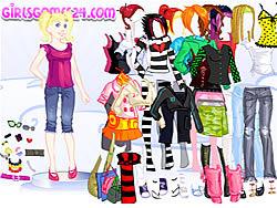 Casual Girl Dressup oyunu