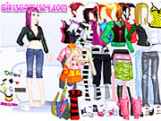 Play Casual girl dressup Game