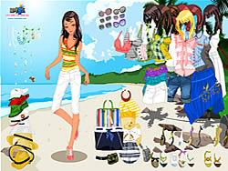 Maglaro ng libreng laro Celeste Beach Dressup