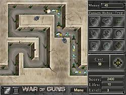 War of Guns game