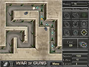Play War of guns Game