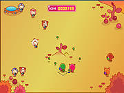 Play Puppyred ball war Game