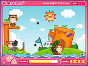 Play Puppyred cannonball Game