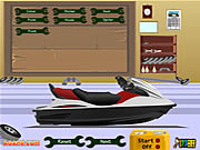 Play Pimp my water scooter Game