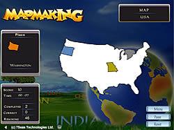 Map Making game