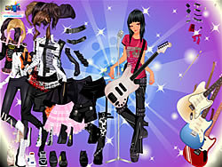 玩免费游戏 Girl in the Band