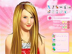 Makeup Ashley Tisdale game