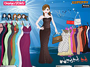 Play Sandra prom party dressup Game