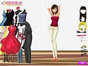 Charming Girl Dressup παιχνίδι