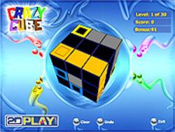 Crazy Cube game