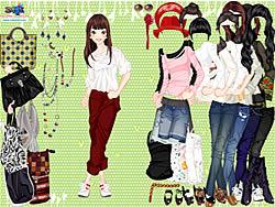 Eliza Girl Dressup game