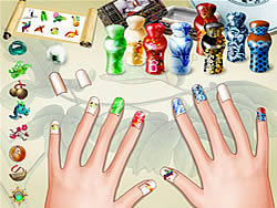 Beautiful Nails game