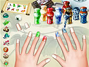 Play Beautiful nails Game