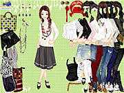Play Casually cropped style dressup Game