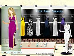Flip Prom Dresses game