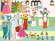Play Cooking class dress up Game
