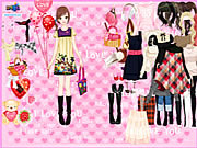 Play Time to love dressup Game